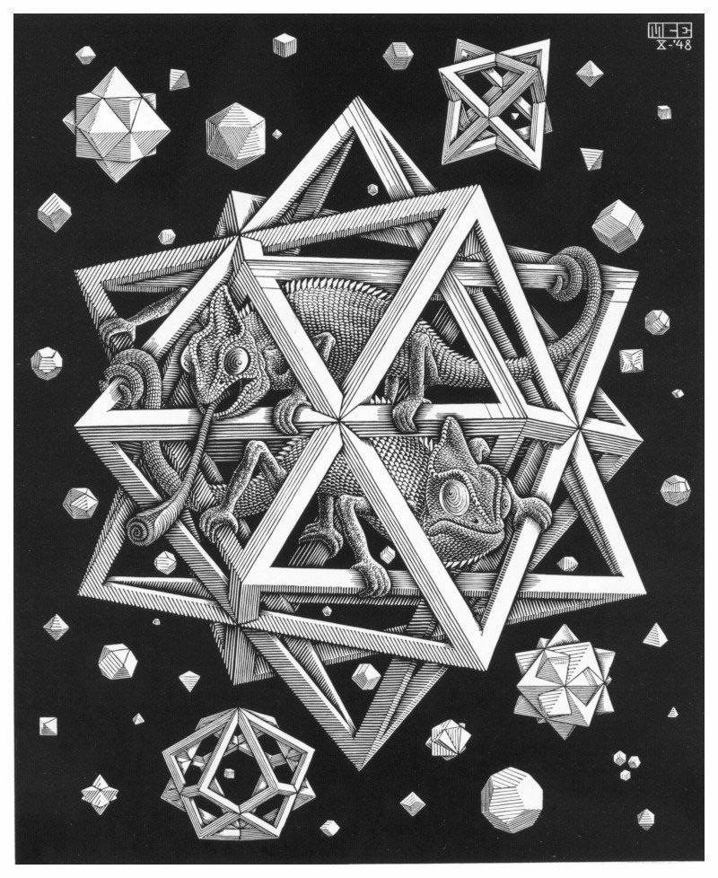 Escher gallery for Mc escher gallery